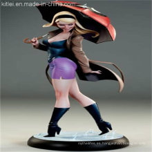Figura de acción plástica japonesa popular PVC Figure