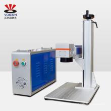 10W 20W 30W 50W 100W Split Fiber Laser Marking Machine for Jewelry, Nameplate, Pet tag