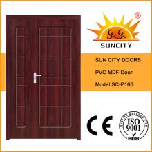 High Quality Indian Luxury Solid Toilet Door Designs (SC-P166)