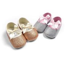 5 Цвет Мягкой Подошвой Противоскользящие Детская Обувь Первые Ходунки Младенческой Малыша Мокасины