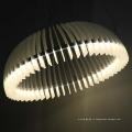 Европейский Стиль Decrotive белые круглые металлические освещение СИД Привесное
