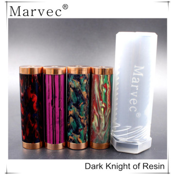 Marvec Dark Knight ecigarette vape kit de modificación mecánica