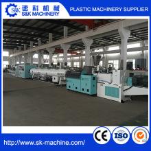 Fabrication de machine à l'extrusion à double tubage PVC à 20-63 mm