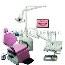 Three fold Top Mounted Dental Unit