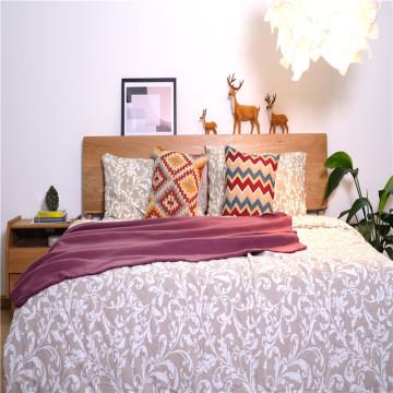 Pure Color Soft Polar Fleece Mikrofaser-Bettdecken
