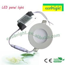 ¡Venta caliente! luz ultra delgado panel led de 3W