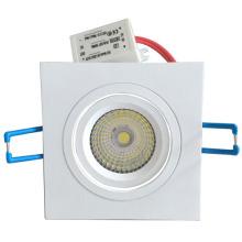 Квадратный светодиодный потолочный светильник, прямоугольный встроенный потолочный светильник