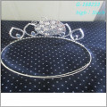 Wholesale Fashion pearl large pageant crowns full tall personalized tiara crown
