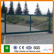 Wire mesh fence metal gate