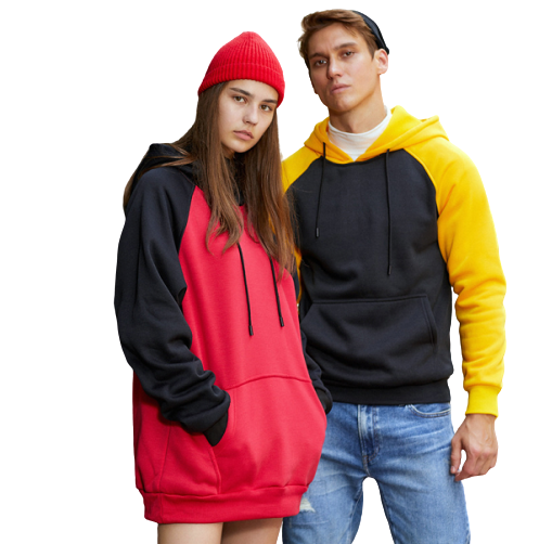 Mens Womens Casual Multi-color Pullover Hoodies And Sweatshirts