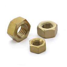 Porcas de latão hexagonal DIN934 de alta qualidade
