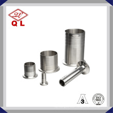 3A Stainless Steel Sanitary 14mphr Clamped Adapter Hose Nipple