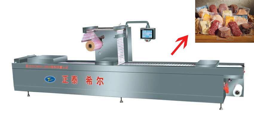 Automatic vacuum packing machinery