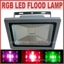 Impermeable al aire libre de control remoto RGB LED 50W LED Flood Light