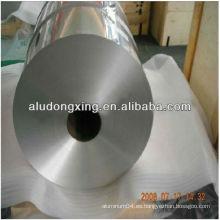 Contenedor de alimentos aluminio hoja lateral