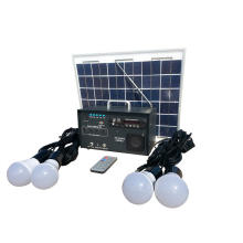 Outdoor LED Solar Radio-Beleuchtungssystem kit