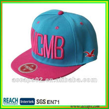 embroidered flat bill snapback hats wholesale
