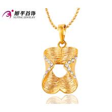 32387 xuping vente chaude belles dames bijoux de mode 18 k plaqué or pierre strass pendentif pour les femmes