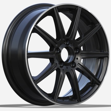 Aluminio Mercedes Replica 17 5X112 Black Lip Machined