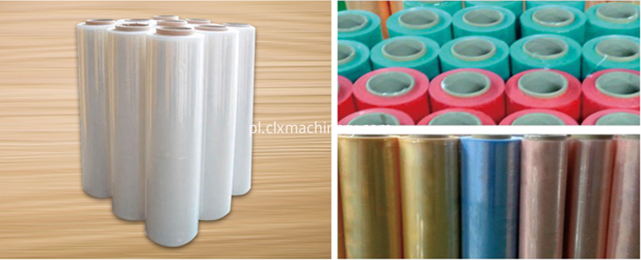 PE preservatice film machine