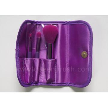 Beauty Cosmetics Ensemble de brosse à maquillage en nylon 3 pièces