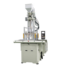 Double sliding high speed vertical injection moulding machine