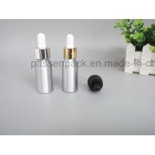 Aluminium-Tropfflasche für kosmetische Olivenölverpackung (PPC-ADB-013)