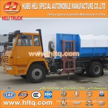 SHACMAN AOLONG 12CBM hanging bucket garbage truck 270hp