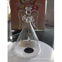 Ornamento del vidrio soplado de la Navidad de la mano