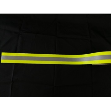 EN469 Flame Retardant Cotton Fluorescent Warning Tape