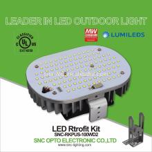 Перечисленный UL 100W вело свет shoebox наборы retrofit с 5 лет Гарантированности