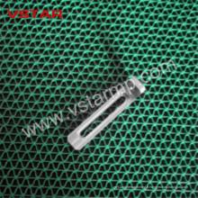 Pièces fraisées par acier au carbone par pièce de rechange de haute précision de pièce de usinage plaquée Vst-0905