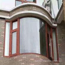 Factory prices curved arc design aluminum window