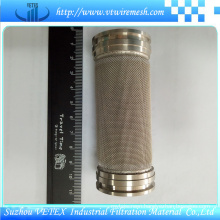 Stainless Steel Oil Purifier Filter Cylinder