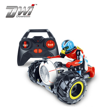 DWI Wholesale Climbing Motor Toys High Speed 4D RC Motorcycle