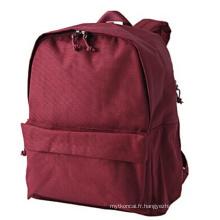 Le sac à dos portable rouge (hx-q021)