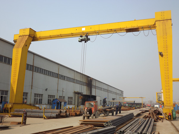 Industrial 8T Single Girder Gantry Crane