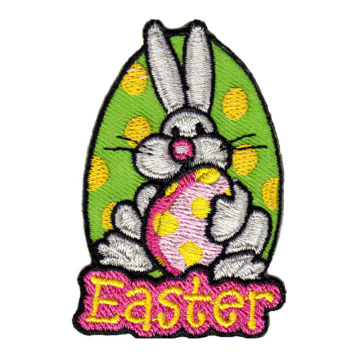 Papan Bordir Easter Rabbit Twill Custom