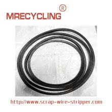 Máquina peladora de cables de alimentación de bucle
