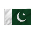 Pakistan Flags Polyester mit Messingösen 3x5 Ft