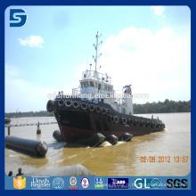 airbag marin flottant en caoutchouc pour le déplacement lourd