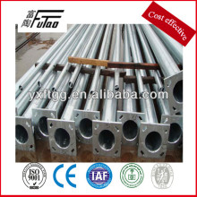 galvanized pole and steel light pole