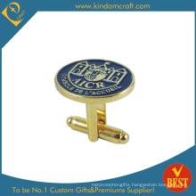 2015 Fashion UK Style Gold Cufflink Badge (KD-0163)