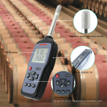 HENGKO Multi-Functions Temperature and Humidity Meter Thermometer Hygrometer with USB Interface HK-J9A103