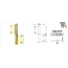 Gold Steel Hinge for Door Hardware 4 Inch