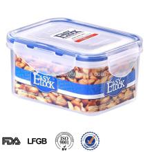 Easylock 500 ml plástico hermético recipiente de alimento recipiente de plástico