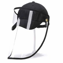Face Shield Hat Splash Protective Anti Spitting Mask