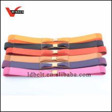 Variedade de cores Cinturão de moda Dressy feminino