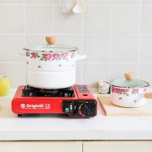 Enamel Kitchen Cookware steamer pot