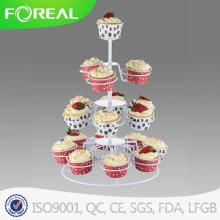 4-Tiers 18PCS Metal Christmas Cupcake Stand